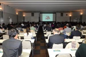 昨年開催の「企業と生物多様性に関するシンポジウム」の様子