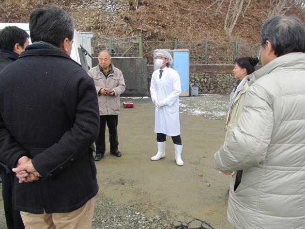海風を活用した魚介類加工についての説明―株式会社三陸海風(宮古)